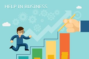 Help in business concept
