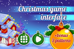 Christmas game interface