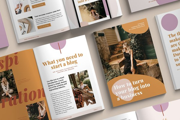 eBook Creator template | CANVA