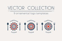 9 Traditional Cuisine Logo Templates