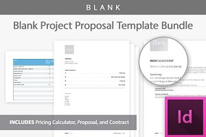 [Blank] Project Proposal Templates