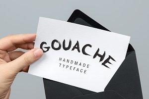 Gouache Handmade Typeface