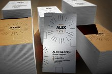 Realistic Business Card Mockups 3