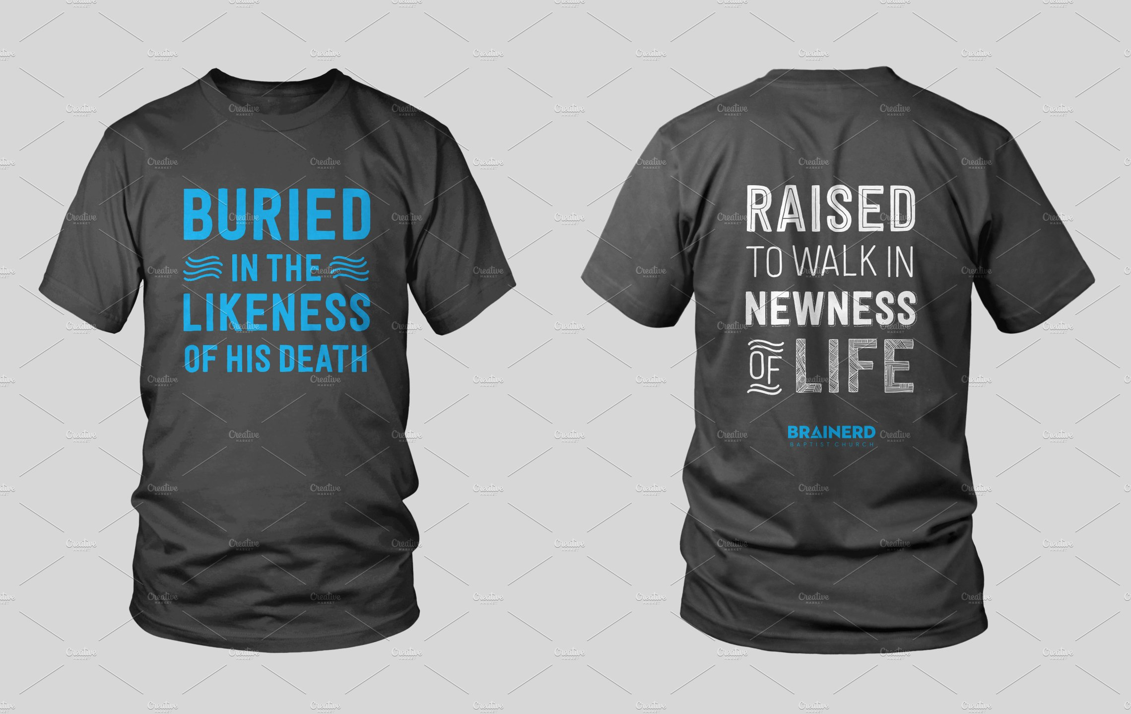 Baptism Shirt Design Illustrations Creative Market