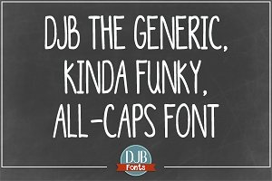DJB Generic Kinda Funky All Caps