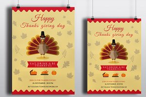 Thanksgiving Invitation | Flyer-V107