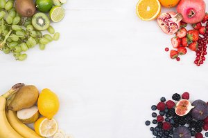 Fruit hero header