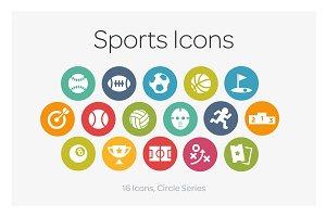 Circle Icons: Sports