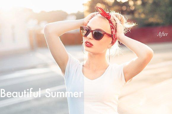 Beautiful Summer - Lightroom Preset