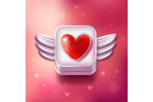 Valentines Day Original Set of Icons