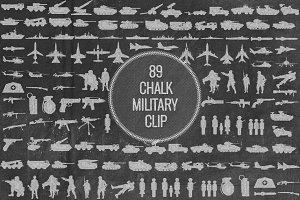 Chalk Miltary Clip