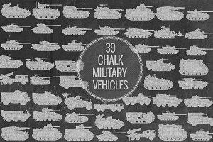 Chalk Military Vehicles