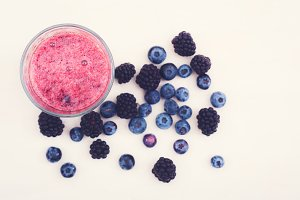 Healthy fruit smoothy