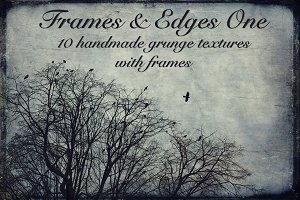 Frames and Edges one - Textures