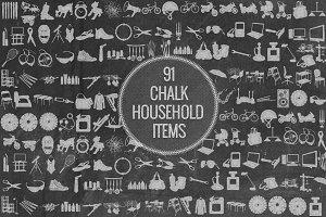 Chalk Household Items
