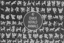Chalk Herald Animals