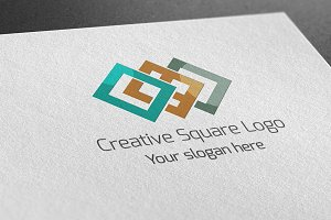 Creative Square Logo