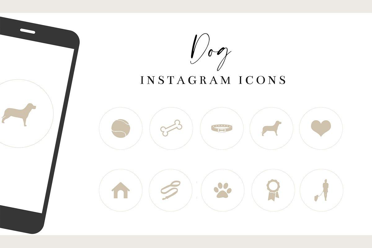 Dog Instagram Icons