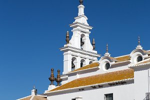 Rocio Church in Andalucia Spain