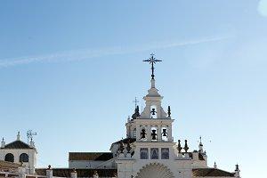 Rocio Church in Andalucia Spain