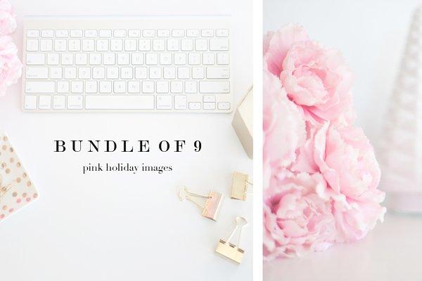 Pink Holiday Stock Photos