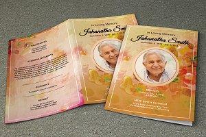 Funeral Program Template-V240