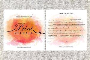 Print Release Template PR01