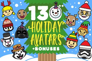 Holiday Avatars + Bonuses