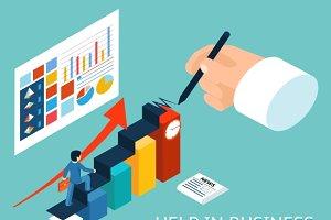 Business mentor help partner