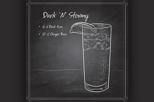 Cocktail Dark 'N' Stormy