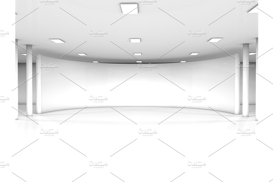 Miraculous White Empty Showroom Space Download Free Architecture Designs Scobabritishbridgeorg