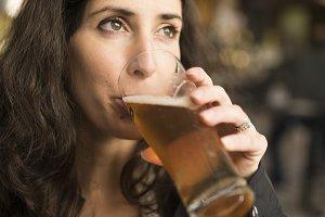 Beer woman