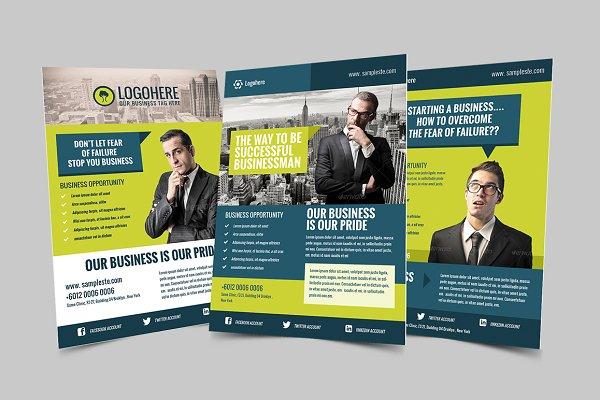 Businessman Flyer & Poster