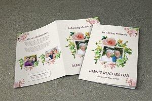 Funeral Program Template-V242