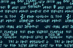 Alien hieroglyphics