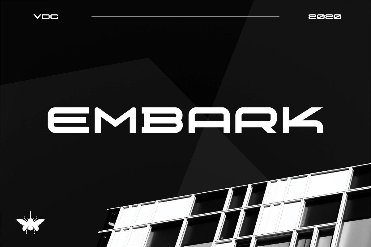 Embark - Sans Serif Font