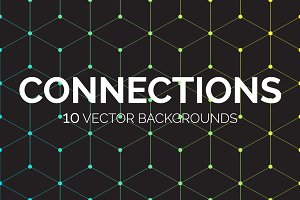 Connections: 10 Vector Backgrounds