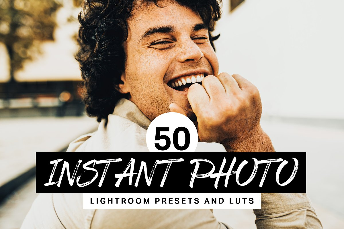 50 Instant Photo Lightroom Presets