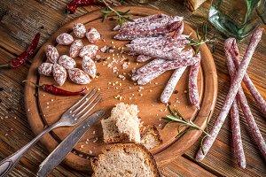Small salamis
