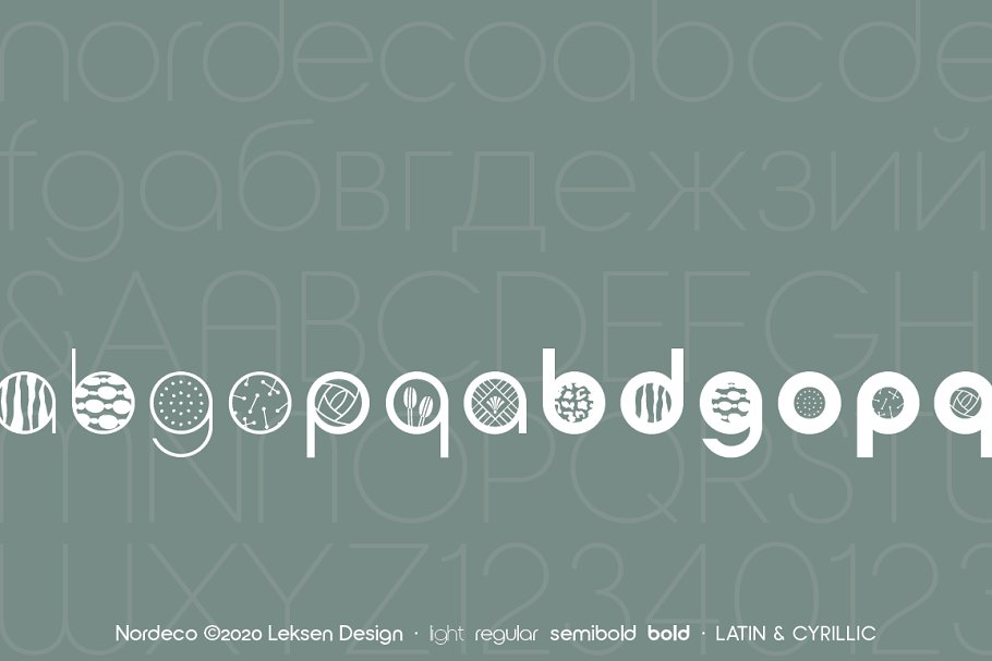 Nordeco Cyrillic Light in Sans-Serif Fonts - product preview 2