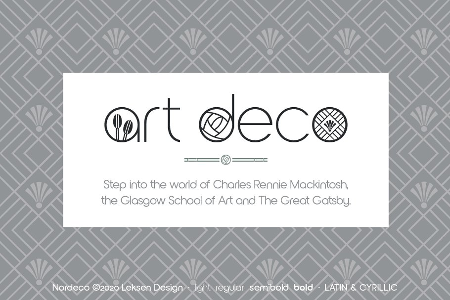 Nordeco Cyrillic Light in Sans-Serif Fonts - product preview 3