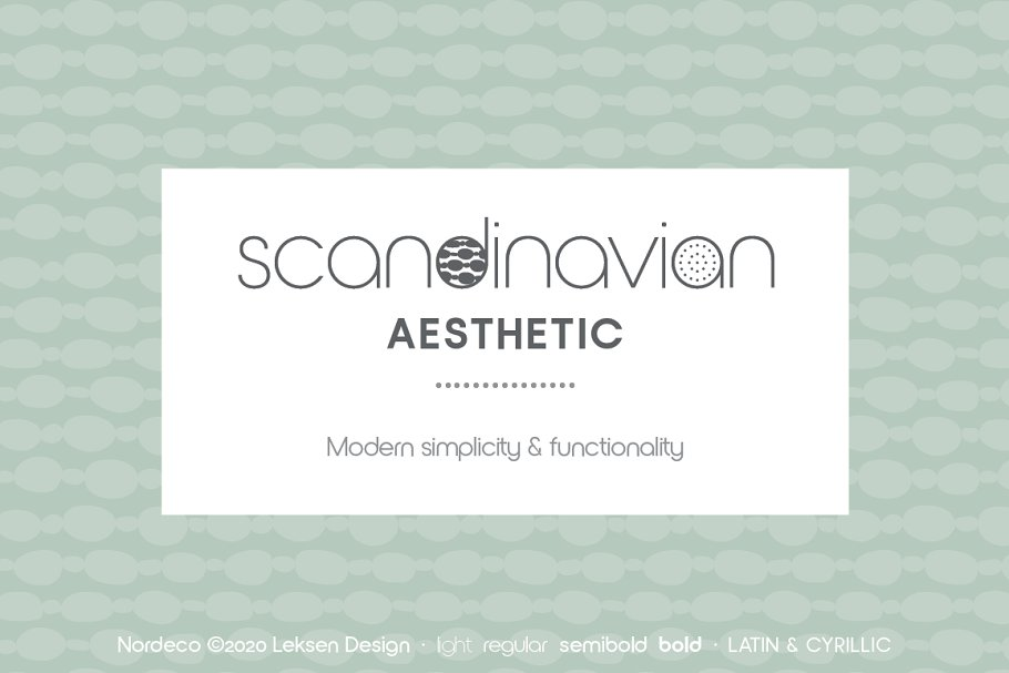 Nordeco Cyrillic Light in Sans-Serif Fonts - product preview 5