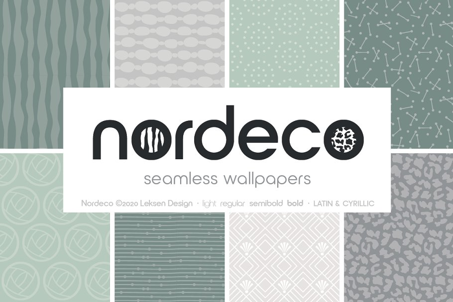 Nordeco Cyrillic Light in Sans-Serif Fonts - product preview 6