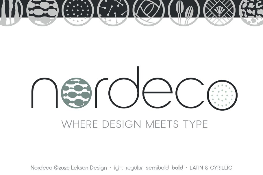 Nordeco Cyrillic Light in Sans-Serif Fonts - product preview 1