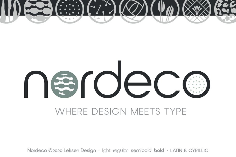 Nordeco Cyrillic Regular in Sans-Serif Fonts - product preview 1