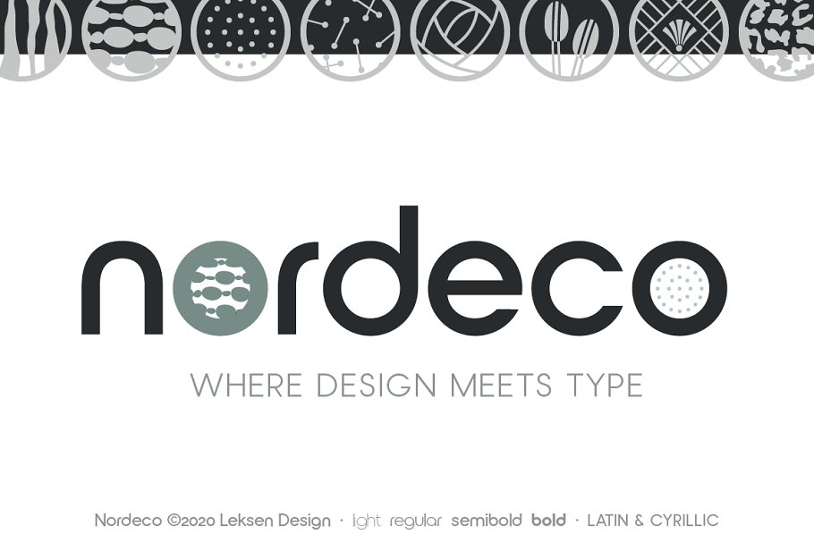 Nordeco Cyrillic Semibold in Sans-Serif Fonts - product preview 1
