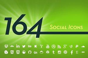 164 Vector Social Icons