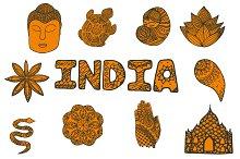 India set: 11 elements