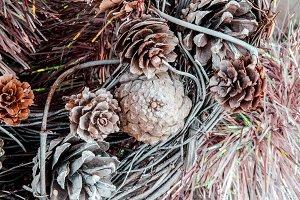 Adornos ramas secas