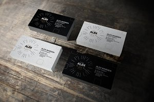 Business Card Mock-Up 5